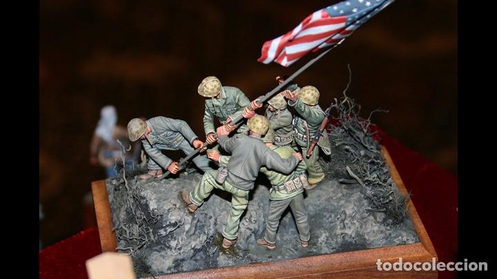 Maquetas: IWO JIMA Flag Raisers 1:72 ITALERI 6098 maqueta figuras diorama - Foto 9 - 144717164