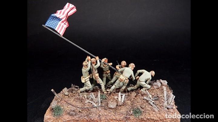 Maquetas: IWO JIMA Flag Raisers 1:72 ITALERI 6098 maqueta figuras diorama - Foto 11 - 144717164