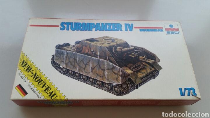 Maquetas: Maqueta carro tanque esci sturmpanzer IV brummbar escala 1/72 - Foto 2 - 144720044