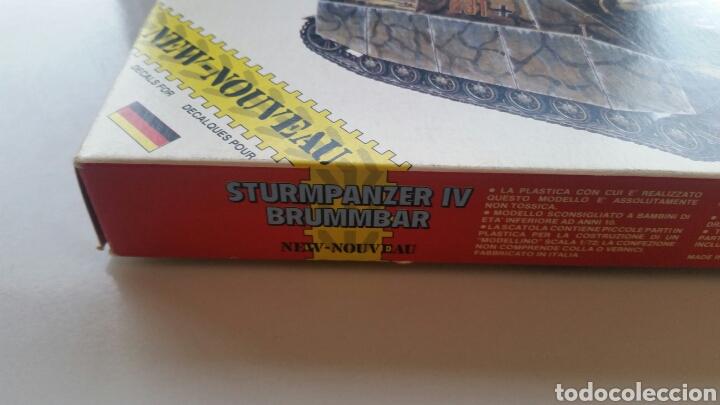 Maquetas: Maqueta carro tanque esci sturmpanzer IV brummbar escala 1/72 - Foto 3 - 144720044