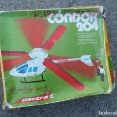 Maquetas: CONDOR 204, PRECIOSO HELICOPTERO DE PACTRA. Lote 144894382