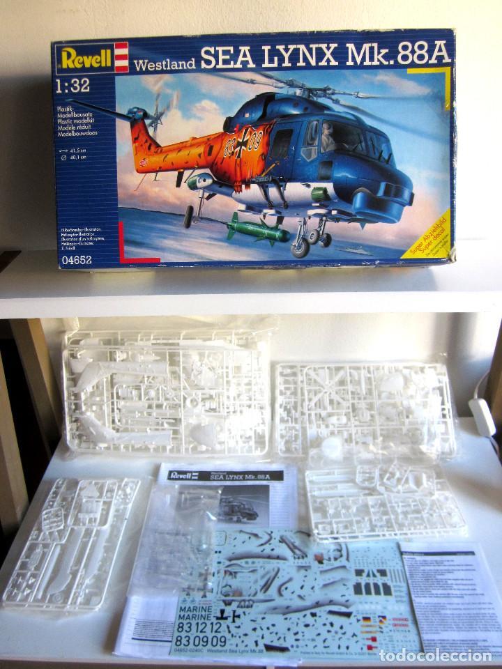 MAQUETA REVELL HELICÓPTERO ESCALA 1:32 WESTLAND SEA LYNX MK. 88A COMPLETA INSTRUCCIONES PEGATINAS (Juguetes - Modelismo y Radio Control - Maquetas - Aviones y Helicópteros)