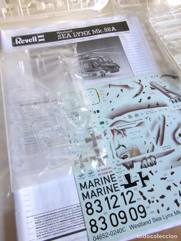 Maquetas: Maqueta Revell Helicóptero Escala 1:32 Westland Sea Lynx Mk. 88A Completa instrucciones pegatinas - Foto 2 - 145576666