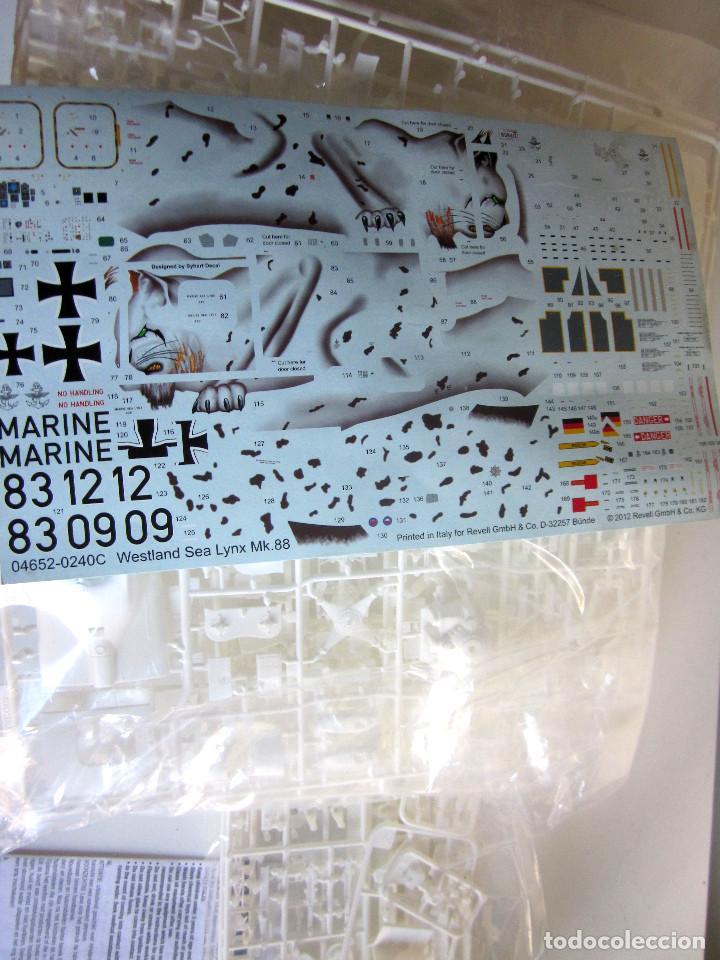 Maquetas: Maqueta Revell Helicóptero Escala 1:32 Westland Sea Lynx Mk. 88A Completa instrucciones pegatinas - Foto 7 - 145576666