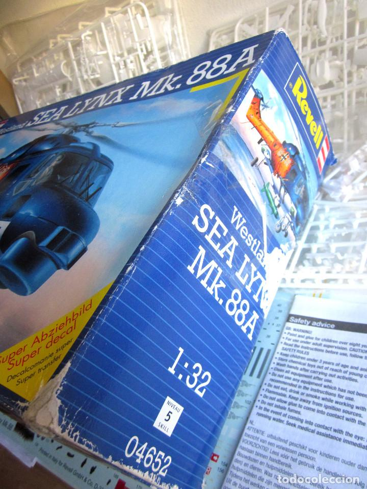 Maquetas: Maqueta Revell Helicóptero Escala 1:32 Westland Sea Lynx Mk. 88A Completa instrucciones pegatinas - Foto 8 - 145576666