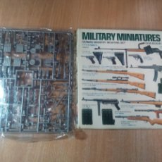 Maquetas: MILITARY MINIATURES- GERMAN INFANTRY WEAPONS SET - E: 1/35. Lote 145658758