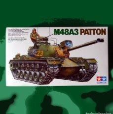 Maquetas: MAQUETA TANQUE, M48A3 PATTON, ESCALA; 1/ 35, DE TAMIYA - NUEVO, EN CAJA PRECINTADA - DESCATALOGADO.. Lote 145846950