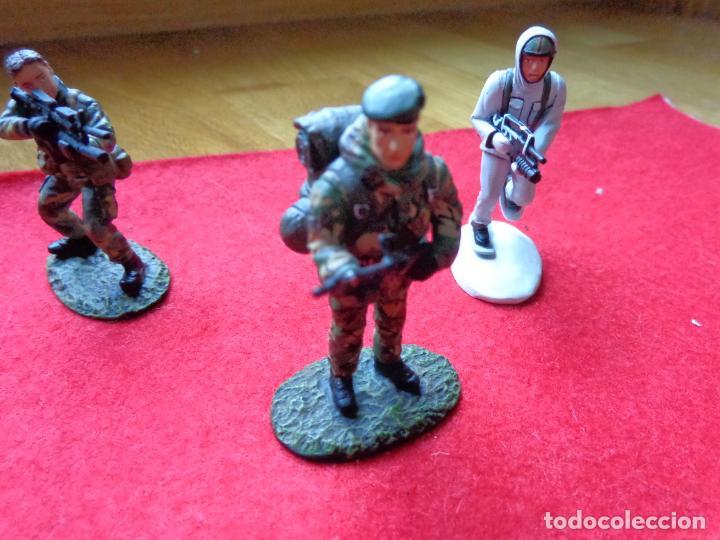 Maquetas: ¡¡¡ LOTE DE 3 SOLDADOS DE PLOMO FRANCIA Y UK !!! - Foto 3 - 146063862