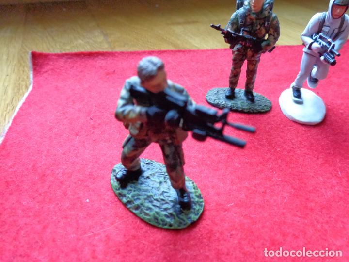 Maquetas: ¡¡¡ LOTE DE 3 SOLDADOS DE PLOMO FRANCIA Y UK !!! - Foto 4 - 146063862