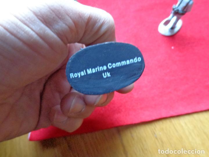 Maquetas: ¡¡¡ LOTE DE 3 SOLDADOS DE PLOMO FRANCIA Y UK !!! - Foto 5 - 146063862