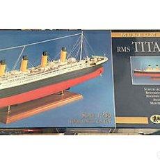 Maquetas: KIT TITANIC 1/250 AMATI EN MADERA.NUEVO.ENVIO INCLUIDO. Lote 146263850