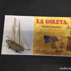 Maquetas - Maqueta naval la goleta - 146382888