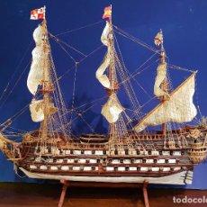 Maquetas - Galeón San Felipe. Maqueta del barco español de 1690 con planos de montaje. Vincenzo Lusci, 1966. - 146561458