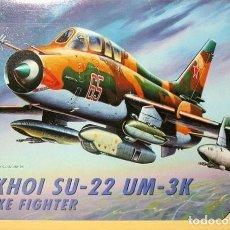 Maquetas: MAQUETA 1/72 - SUKHOI SU-22UM-3K STRIKE FIGHTER ITALERI - NR. 052 - 1:72. Lote 146620258