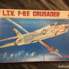 Maquetas: F-8 E CRUSADER 1:48 ESCI 4011 MAQUETA AVIÓN. Lote 146638402