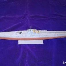 Maquetas: MAQUETA DE SUBMARINO U-BOOT KRIEGSMARINE ALEMANA. Lote 146713950
