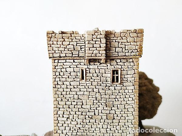 Maquetas: MAQUETA - CASTILLO DE THOOR BALLYLEE - TORRE FORTIFICACION - IRLANDA MEDIEVAL MEDIEVO - Foto 7 - 146992010