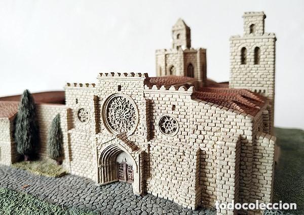 Maquetas: MAQUETA - MONASTERIO DE SAN CUGAT DEL VALLES - CATALUÑA- BARCELONA - Foto 2 - 146997226