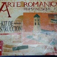 Maquetas: KIT CONSTRUCCIÓN ARTE ROMÁNICO IGLESIA ROMÁNICA E:1/50. Lote 147212042