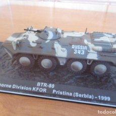 Maquetas: ALTAYA - CARROS DE COMBATE: MAQUETA EN METAL CARRO DE COMBATE BTR-80 (1/72). Lote 222376058