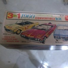 Maquetas: AMT 1 IN 1 1960 CUSTOMIZING CONVERTIBLE KIT. Lote 147510854