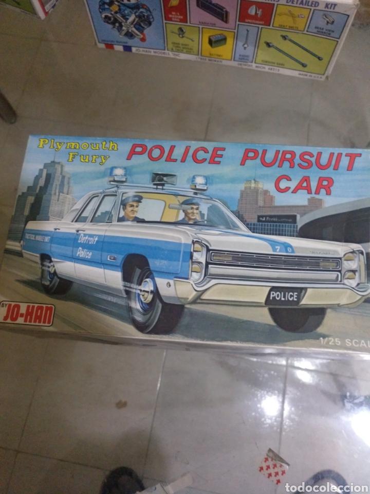 JO-HAN PLYMOUTH FURY POLICE PURSUIT CAR (Juguetes - Modelismo y Radiocontrol - Maquetas - Coches y Motos)