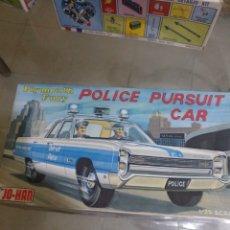 Maquetas: JO-HAN PLYMOUTH FURY POLICE PURSUIT CAR. Lote 147511709