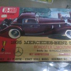 Maquetas: JO-HAN 1935 MERCEDES BENZ 500K. Lote 147512377