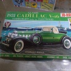 Maquetas: JO-HAN 1931 CADILLAC V-16. Lote 147512862