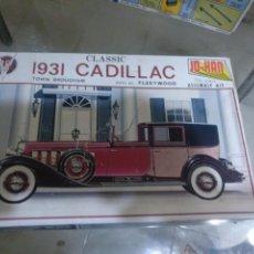 Maquetas: JO-HAN 1931 CADILLAC. Lote 147513296