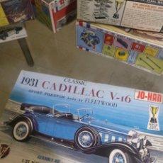Maquetas: JO-HAN 1/25 1931 CADILLAC V.I6. Lote 147513728