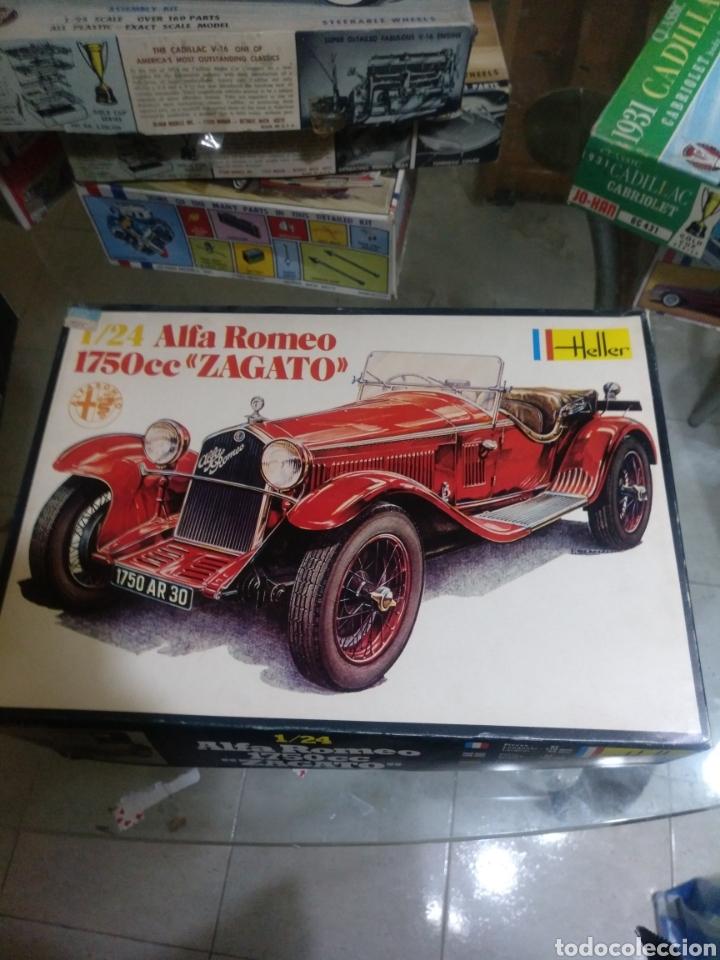 HELLER 1/24 ALFA ROMEO 1750CC ZAGATO (Spielzeug - Modellbau und Funksteuerung - Modelle - Autos und Motorräder)