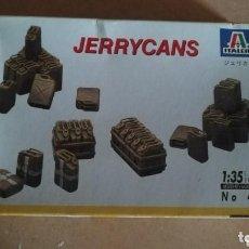 Maquetas: JERRYCANS, ITALERI 1/35. Lote 147548178