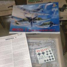 Maquetas: ITALERI 1/72 MISTEL 1 JU-88 A4 WITH BF-109 F. Lote 147557748