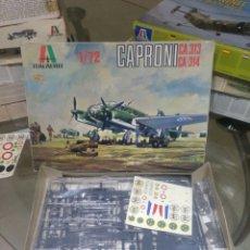 Maquetas: ITALERI 1/72 CAPRONI CA.313 CA.314. Lote 147557950
