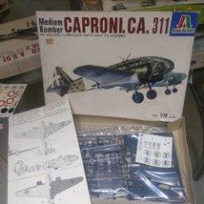 Maquetas: ITALERI 1/72 CAPRONICA CA 311. Lote 147558277