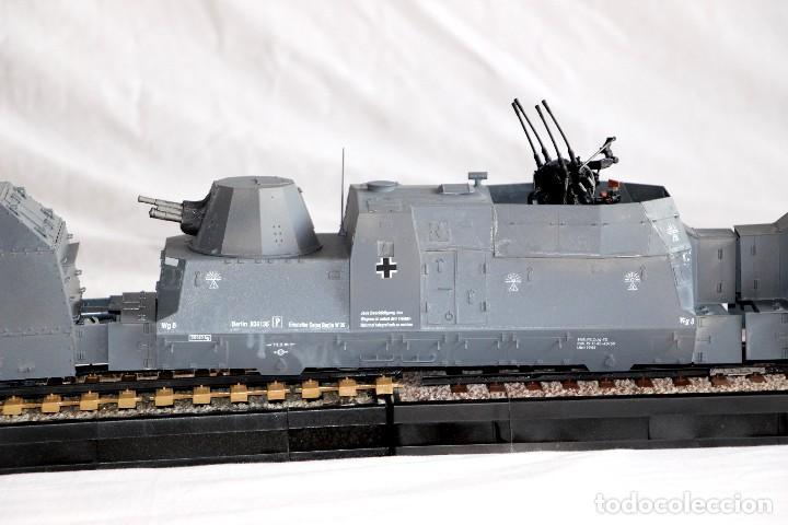 Maquetas: Tren blindado alemán BP42, completo. De la casa Trumpeter. escala 1/35 - Foto 4 - 147641782