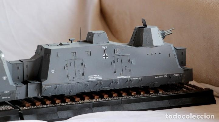 Maquetas: Tren blindado alemán BP42, completo. De la casa Trumpeter. escala 1/35 - Foto 6 - 147641782