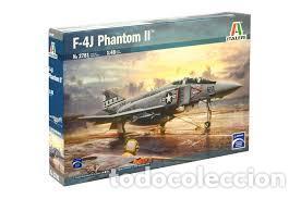 ITALERI - F-4J PHANTOM II 1/48 2781 (Juguetes - Modelismo y Radio Control - Maquetas - Aviones y Helicópteros)