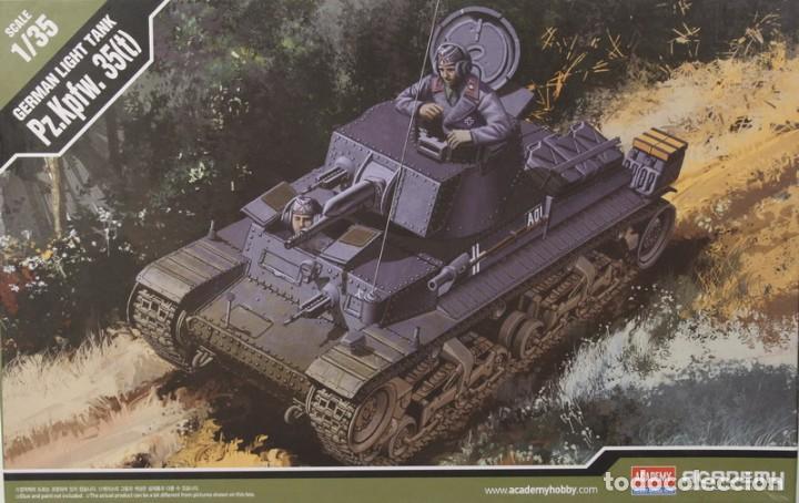 MAQUETA CARRO 35 (T), GERMAN LIGTH TANK, REF. 13280, 1/35, ACADEMY (Juguetes - Modelismo y Radiocontrol - Maquetas - Militar)