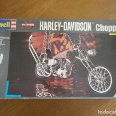 Maquetas: HARLEY-DAVIDSON CHOPPER - REF. 7928- REVELL - ESCALA 1:8 - NIVEL 4 - 1992 - SIN MONTAR.. Lote 147852826