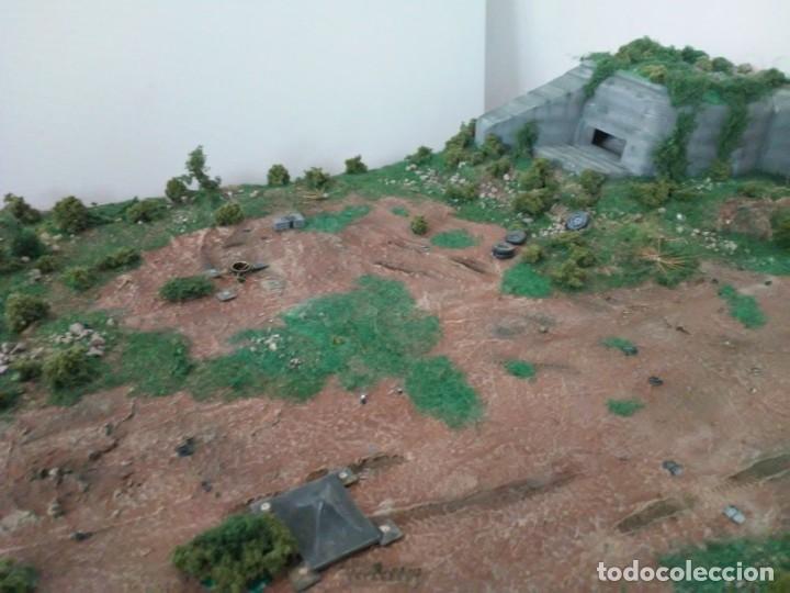 Maquetas: Diorama escenario 1/72 con bunker - Foto 3 - 139468606