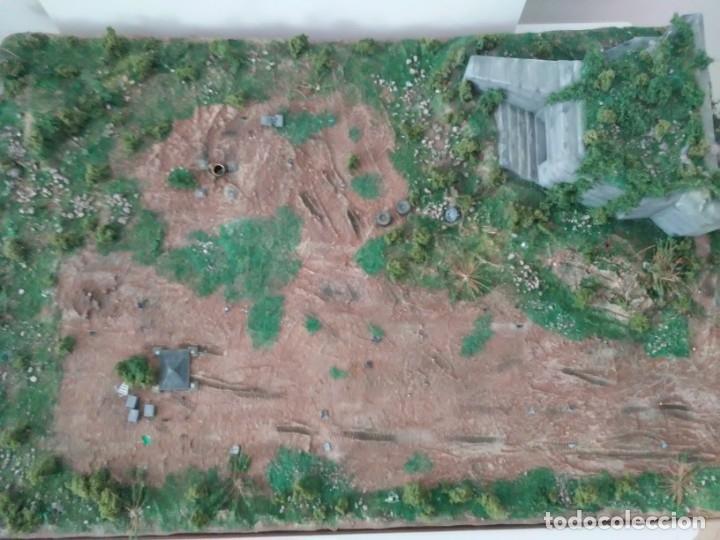 Maquetas: Diorama escenario 1/72 con bunker - Foto 4 - 139468606