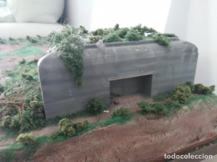 Maquetas: Diorama escenario 1/72 con bunker - Foto 5 - 139468606