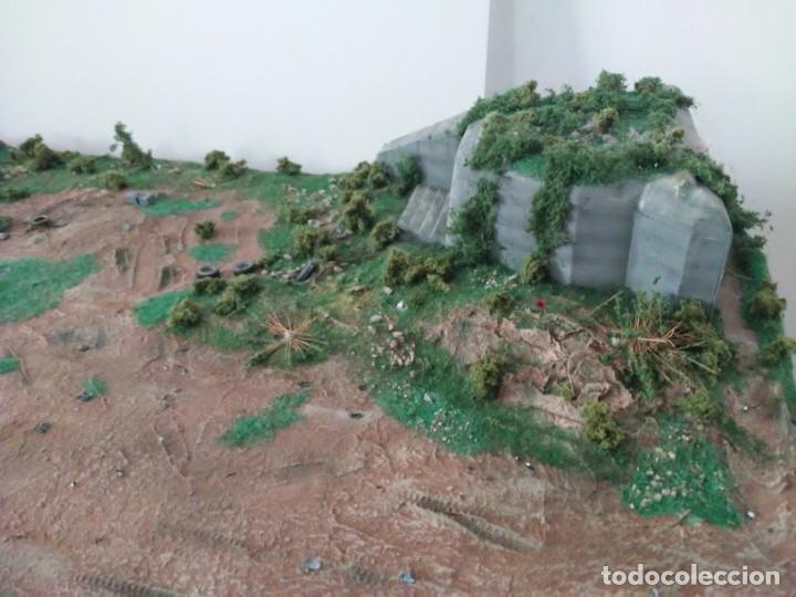 Maquetas: Diorama escenario 1/72 con bunker - Foto 6 - 139468606