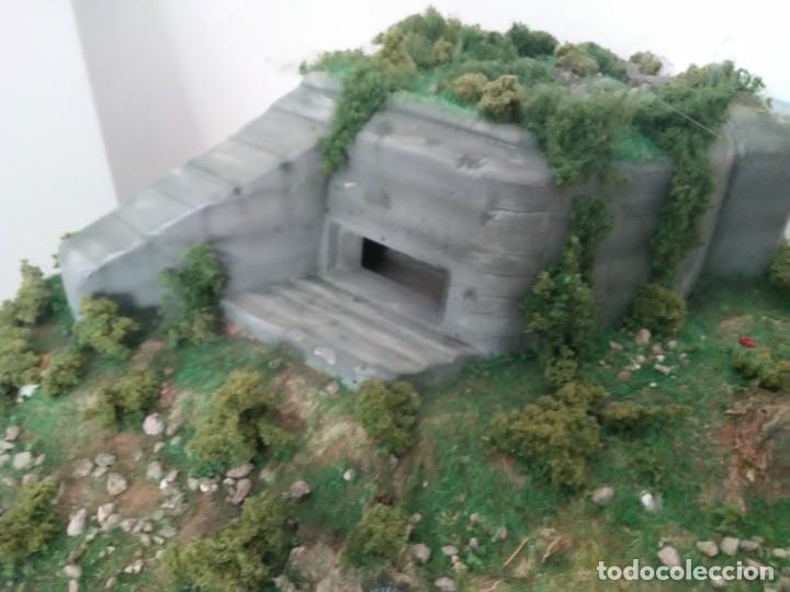 Maquetas: Diorama escenario 1/72 con bunker - Foto 7 - 139468606