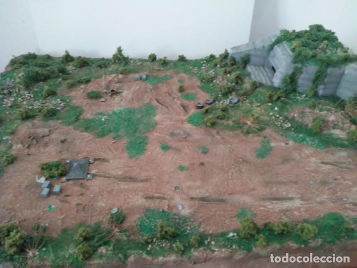 Maquetas: Diorama escenario 1/72 con bunker - Foto 8 - 139468606