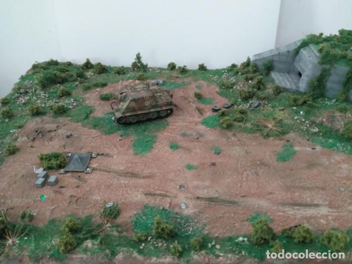 Maquetas: Diorama escenario 1/72 con bunker - Foto 9 - 139468606