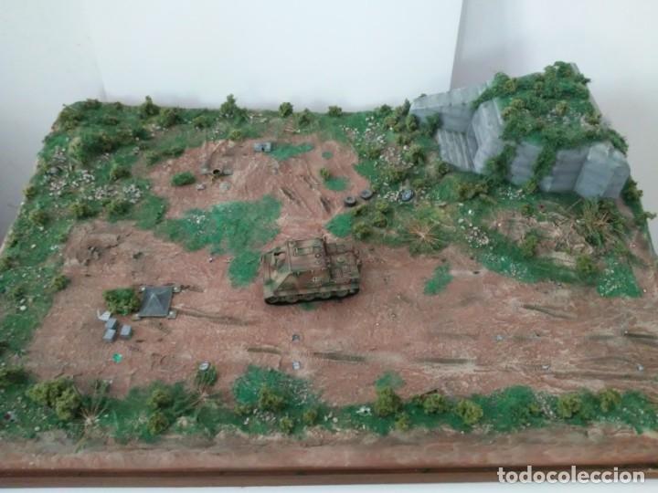 Maquetas: Diorama escenario 1/72 con bunker - Foto 10 - 139468606