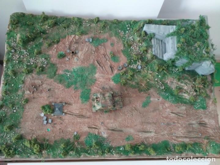 Maquetas: Diorama escenario 1/72 con bunker - Foto 11 - 139468606